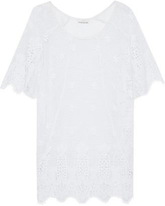 Miguelina Jessica Crocheted Cotton Coverup