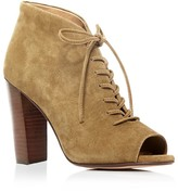 Splendid Janessa Open Toe Lace Up High Heel Booties - 100% Bloomingdale's Exclusive