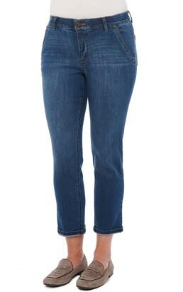 Wit & Wisdom Ab-Solution Roll Cuff Jeans