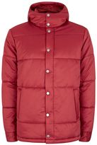 Topman Red Puffer Jacket