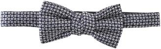 Lanvin Geometric Pattern Bow Tie