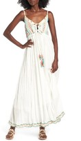 Raga Women's Coastland Babydoll Maxi Dress