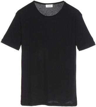 Lemaire Ribbed Short Sleeve T-Shirt