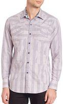 Robert Graham Linear Woven Sportshirt