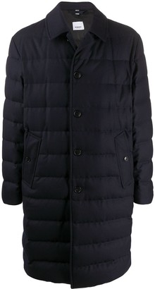 Burberry Single-Breasted Padded Coat