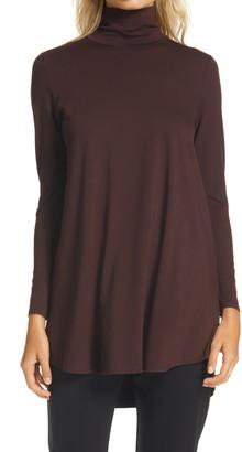 Eileen Fisher Scrunch Neck Tunic