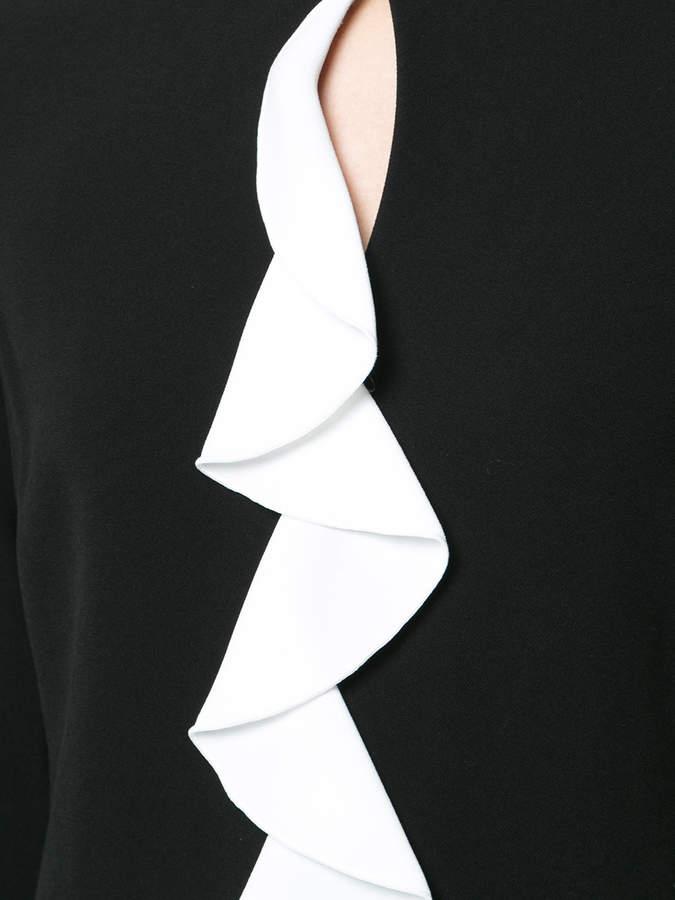 Rachel Zoe frill detail dress