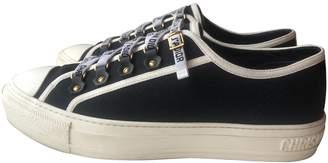 Christian Dior Walk 'n' Black Cloth Trainers