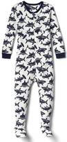Gap Shark footed sleep one-piece