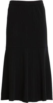Ming Wang Flared Skirt