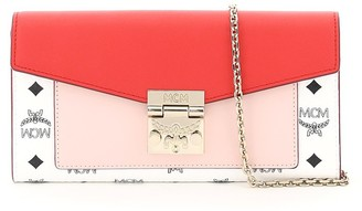MCM patricia visetos wallet mini bag
