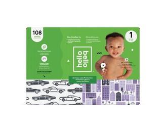 hello bello Club Diaper - Cars / City - Size 1