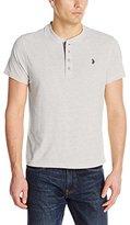 U.S. Polo Assn. Men's Slim Fit Textured Henley T-Shirt