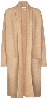 Deveaux Cassie wool and cashmere-blend cardigan