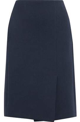 Lanvin Wrap-effect Ponte Skirt