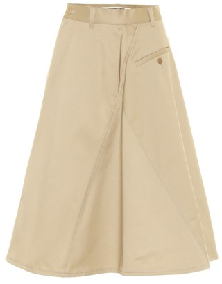 Junya Watanabe High-rise cotton skirt