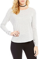 Copper Key Basic Long-Sleeve Sweater
