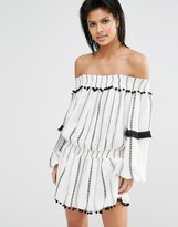 Tularosa Jacqueline Off Shoulder Dress
