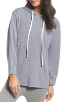 Monrow Women's French Terry Hooded Sweater