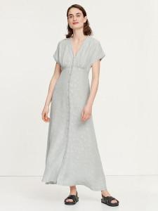 Samsoe & Samsoe Valerie Long Tea Dress Pale Pistachio - XS