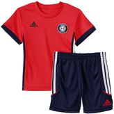 adidas Baby Boy Tee & Shorts Set