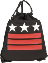Givenchy Black Stars&stripes Drawstring Backpack