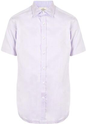 Kent & Curwen Short-Sleeved Button-Up Shirt
