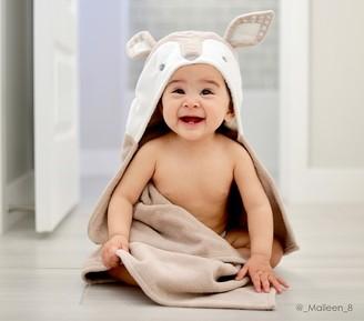 Pottery Barn Kids Fawn Nursery Bath Wrap