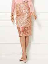 New York & Co. Eva Mendes Collection - Emma Sequin Pencil Skirt