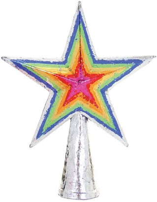 Cody Foster & Co Rainbow Star Tree Topper