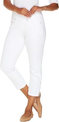 Belle By Kim Gravel Belle by Kim Gravel Flexibelle Pull-On Cropped Jeans Petite