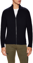Balenciaga Solid Full Zip Knit Sweater