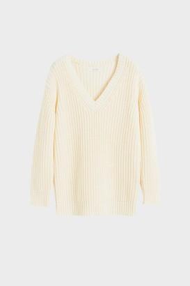 Parker Chinti & Cream Le Soir V Neck Sweater