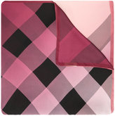 Burberry check scarf - women - Silk - One Size