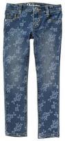 Crazy 8 Floral Skinny Jeans