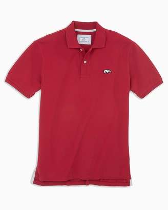 Southern Tide Arkansas Razorbacks Pique Polo Shirt