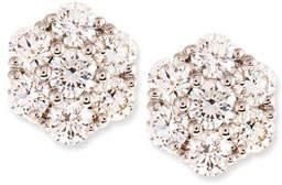 Memoire Small Diamond Flower Cluster Earrings, 0.97 tdcw