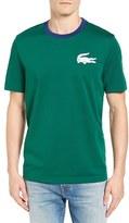 Lacoste Men's L!ve Croc Patch T-Shirt
