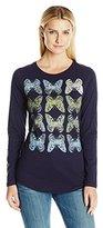 Hanes Women's Long Sleeve Graphic Tee