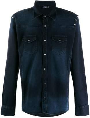 Karl Lagerfeld Paris casual denim shirt