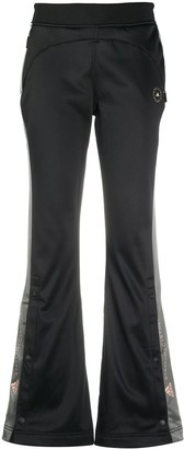 adidas by Stella McCartney Flared Side-Stripe Track Pants