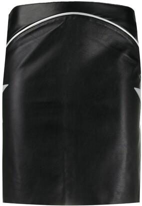 Jessie Western Star Patch Mini Skirt