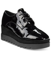 Wanted Beckham Lace-Up Wedge Oxfords Women's Shoes