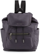 Marc by Marc Jacobs Easy Baby Backpack/Diaper Bag, Gray
