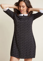 Sugarhill Boutique Bliss Upon a Star Shift Dress in 16 (UK) - Knee Length by from ModCloth