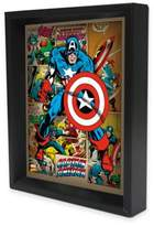 Marvel Heroes Captain America 3D Lenticular Wall Art