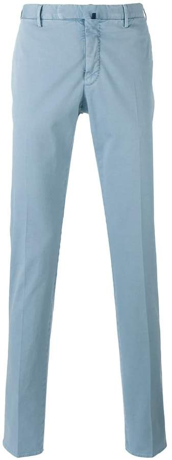 Incotex tapered trousers