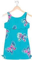 Lilly Pulitzer Girls' Printed Draped Dress