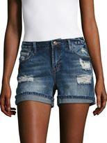 Kensie jeans Distressed Denim Shorts
