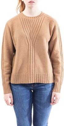 Alberta Ferretti Virgin Wool And Cashmere Blend Sweater